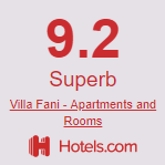 Hotels.com Villa Fani apartments in Trogir, Split region